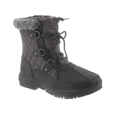 Bearpaw Women's Bethany Boots - Black/Gray Nylon
