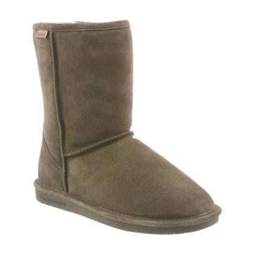 Bearpaw Women's Emma Short Boots - Olive