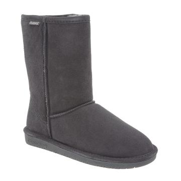 Bearpaw Women's Emma Short Boots - Charcoal