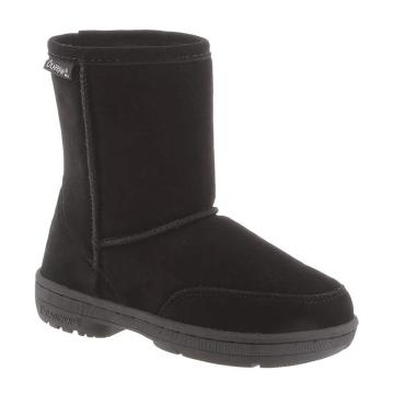 Bearpaw Youth Meadow Boots - Black