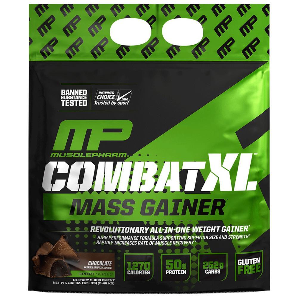 Combat XL Sport Mass Gainer 12lb - Chocolate