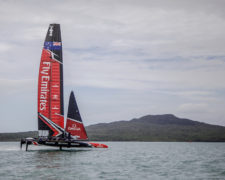 The Launch – Emirates Team New Zealand