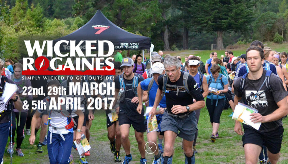 Wicked Rogains Christchurch - First Event, All Funds go to Summit Road Society